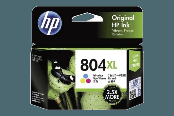 HP 804XL High Yield Tri-color Original Ink Cartridge