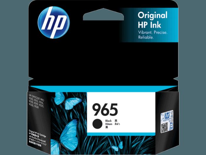 HP 965 Black Original Ink Cartridge