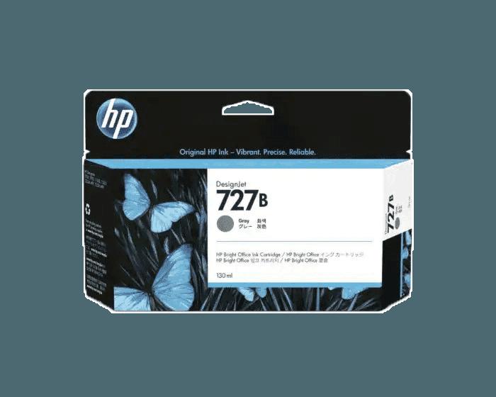 HP 727B 130-ml Gray DesignJet Ink Cartridge
