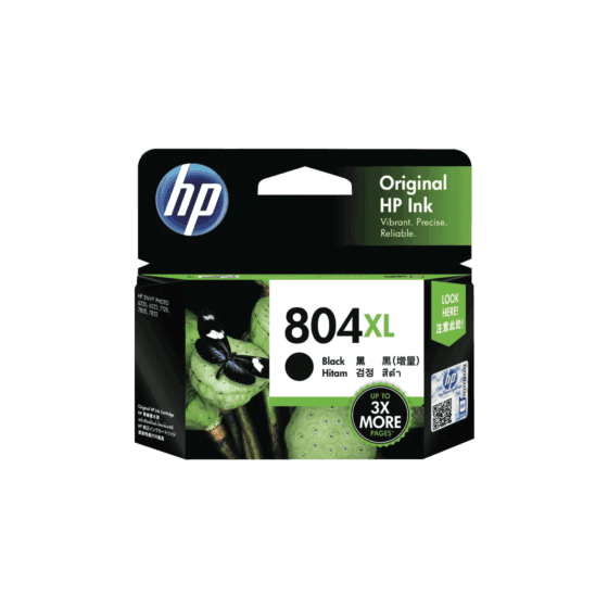 HP 804XL High Yield Black Original Ink Cartridge