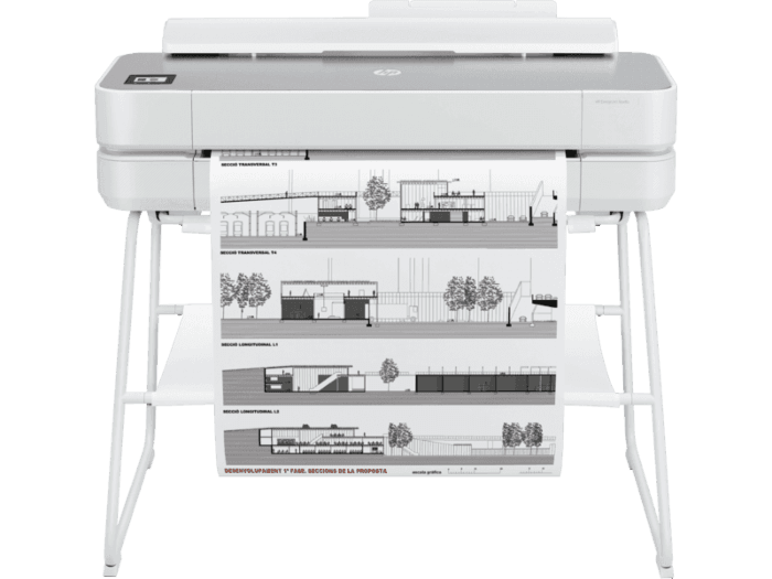 HP DesignJet Studio Steel 24-inch Large Format A1 Plotter Printer