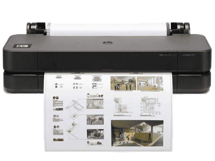 HP DesignJet T230 24-inch Compact Large Format A1 Plotter Printer