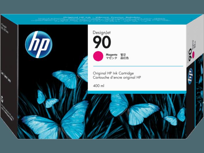 HP 90 400-ml Magenta DesignJet Ink Cartridge