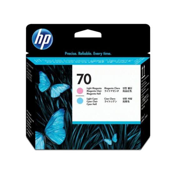 HP 70 Light Magenta and Light Cyan DesignJet Printhead