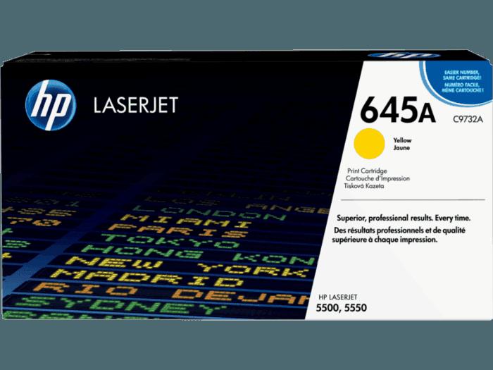 HP 645A Yellow Original LaserJet Toner Cartridge