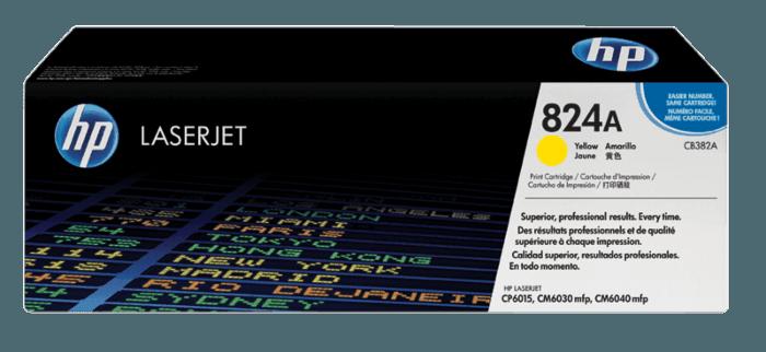 HP 824A Yellow Original LaserJet Toner Cartridge