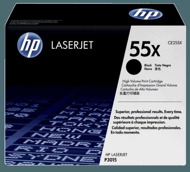 HP 55X High Yield Black Original LaserJet Toner Cartridge