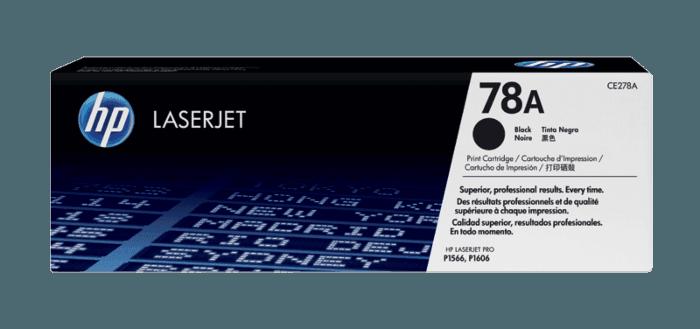 HP 78A Black Original LaserJet Toner Cartridge