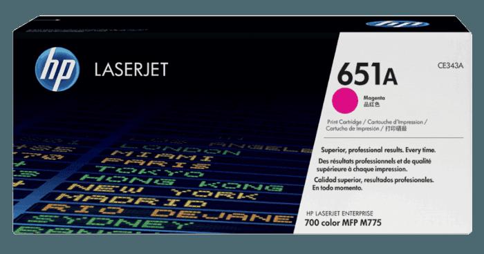 HP 651A Magenta Original LaserJet Toner Cartridge