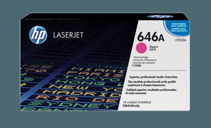 HP 646A Magenta Original LaserJet Toner Cartridge
