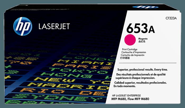 HP 653A Magenta Original LaserJet Toner Cartridge