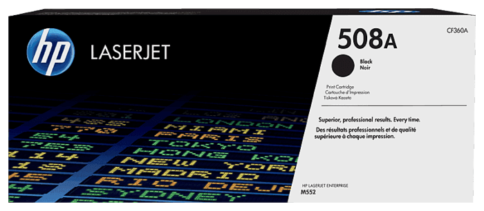 HP 508A Black Original LaserJet Toner Cartridge