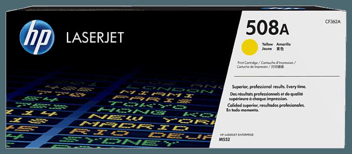 HP 508A Yellow Original LaserJet Toner Cartridge