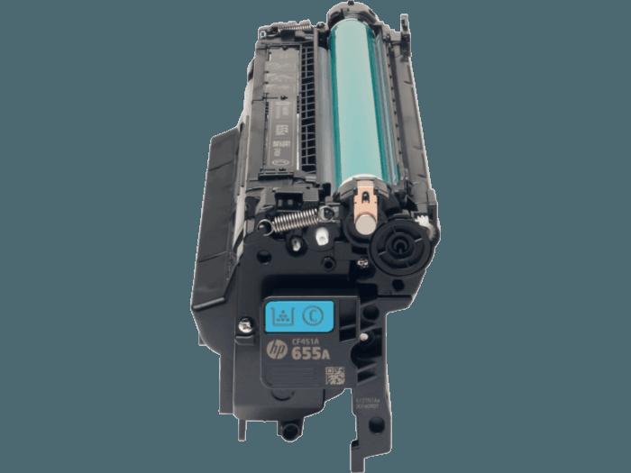 HP 655A Cyan Original LaserJet Toner Cartridge