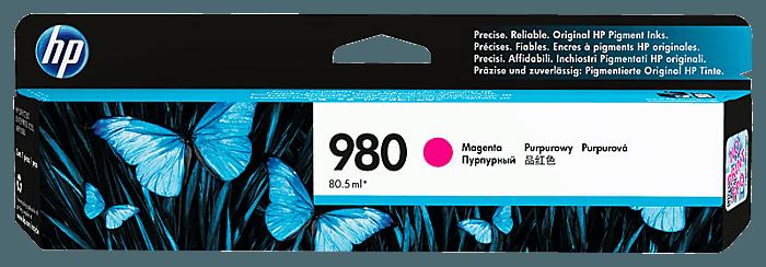 HP 980 Magenta Original Ink Cartridge