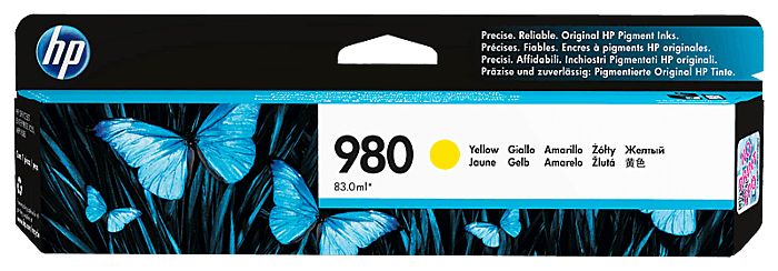 HP 980 Yellow Original Ink Cartridge
