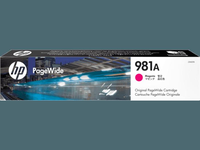 HP 981A Magenta Original PageWide Cartridge