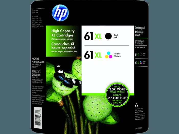 HP 61XL Series Photo Value Pack-60 sht/10 x 15 cm