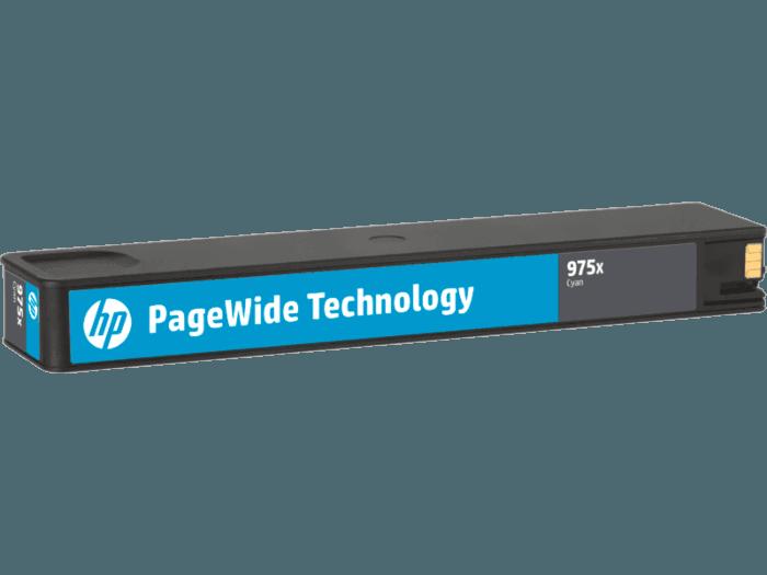 HP 975X High Yield Cyan Original PageWide Cartridge