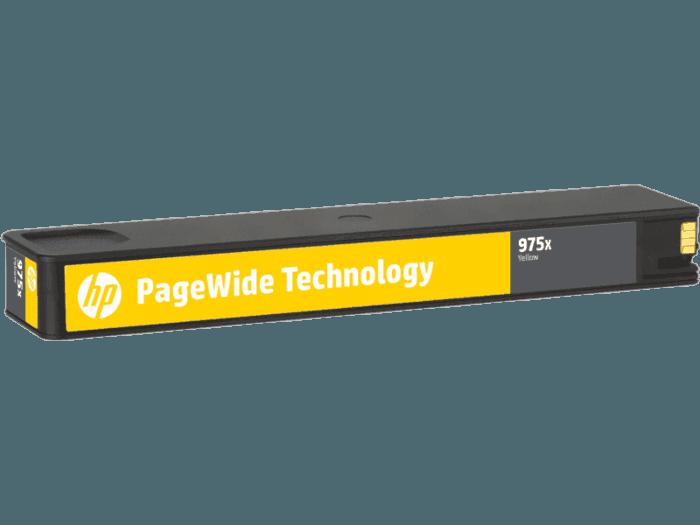 HP 975X High Yield Yellow Original PageWide Cartridge