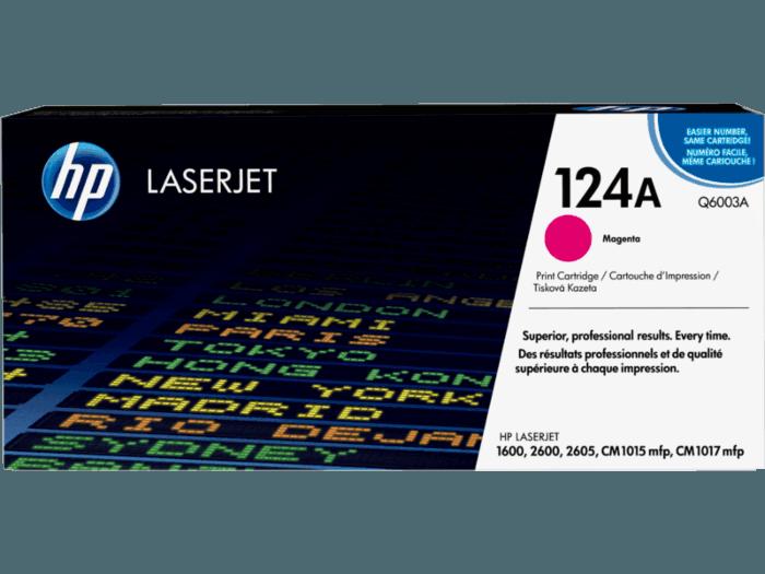 HP 124A Magenta Original LaserJet Toner Cartridge