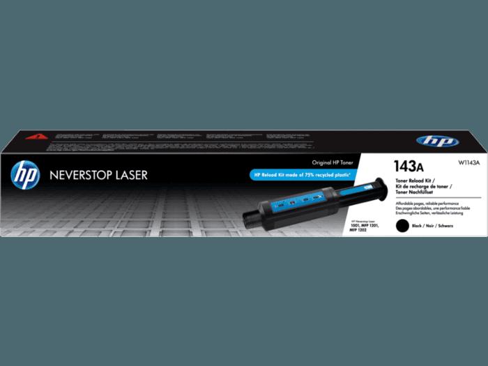 HP 143A Black Original Neverstop Toner Reload Kit