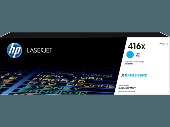 HP 416X High Yield Cyan Original LaserJet Toner Cartridge