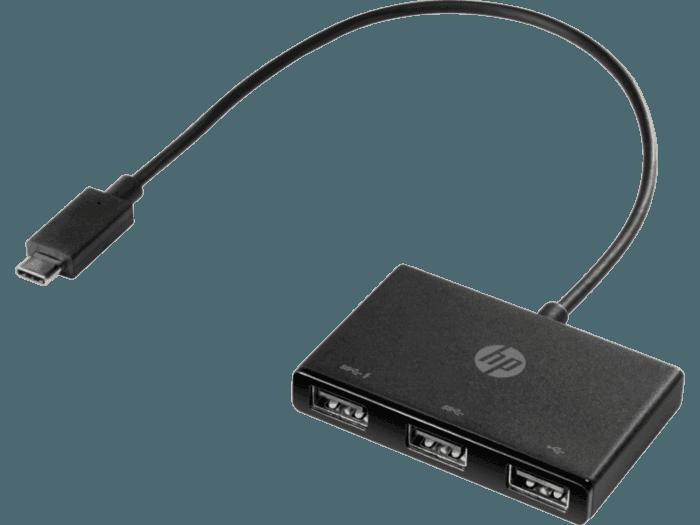HP USB-C to USB-A Hub