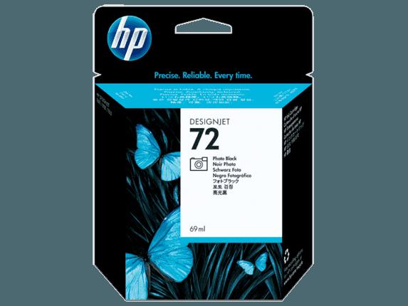HP 72 69-ml Photo Black DesignJet Ink Cartridge