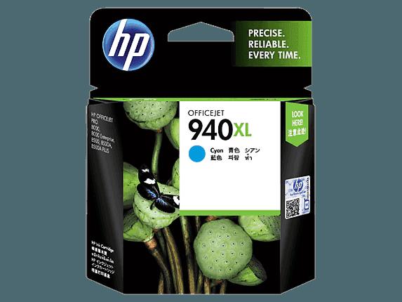 HP 940XL High Yield Cyan Original Ink Cartridge