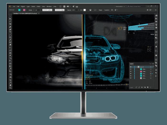 HP Z27u G3 QHD Display