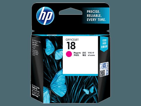 HP 18 Magenta Original Ink Cartridge