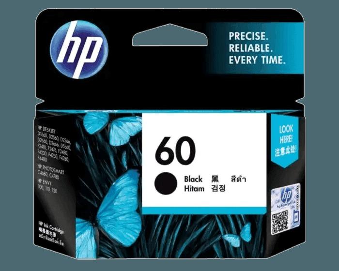 HP 60 Black Original Ink Cartridge