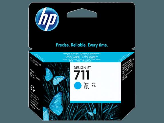 HP 711 29-ml Cyan DesignJet Ink Cartridge