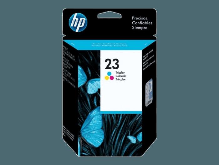 HP 23 Tri-color Original Ink Cartridge