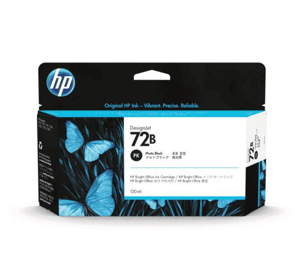 HP 72B 130-ml Photo Black DesignJet Ink Cartridge