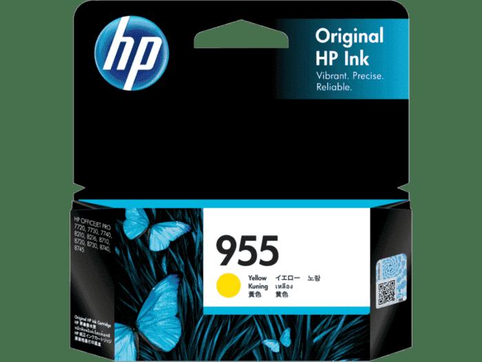 HP 955 Yellow Original Ink Cartridge